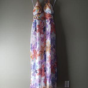 JS Floral MAXI dress